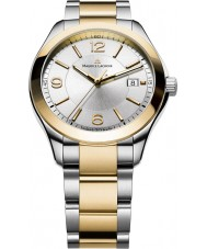 Maurice Lacroix MI1018-PVP13-130 Mens Miros Two Tone Steel and Gold Watch