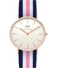 Daniel Wellington DW00100034 Ladies Classic Southampton 36mm Rose Gold Watch