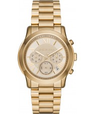 Michael Kors MK6274 Ladies Cooper Gold Plated Chronograph Watch