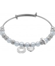 Emozioni DC160 Ladies Ula Serenity Silver Plated Bangle