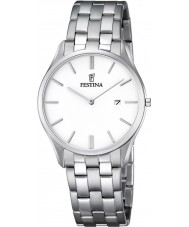 Festina F6840-2 Mens Classic Silver Steel Bracelet Watch
