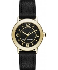 Marc Jacobs MJ1475 Ladies Riley Black Leather Strap Watch