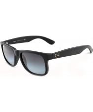Ray-Ban RB4165 51 Justin Rubber Black 601-8G Sunglasses