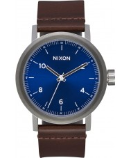 Nixon A1194-2301 Mens Stark Leather Watch