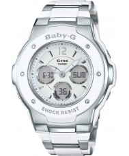 Casio MSG-300C-7B3ER Ladies Baby-G World Time Two Tone Combi Watch