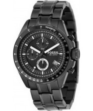 Fossil CH2601 Mens Decker Black Chronograph Watch