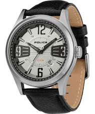 Police 13453JS-61 Mens Silver and Black Lancer Watch
