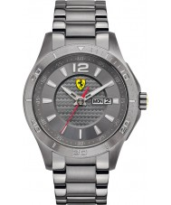 Scuderia Ferrari 0830106 Mens Scuderia IP Grey Steel Watch