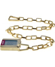 Levis L005GUGHSG Mens Gold Plated Steel With Digital Display Watch