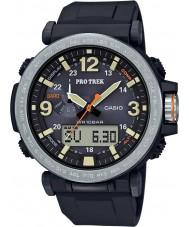 Casio PRG-600-1ER Mens Pro Trek Solar Powered Black Digital Watch