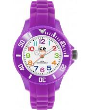 Ice-Watch MN.PE.M.S.12 Ice-Mini Purple Silicone Strap Watch