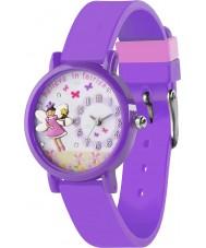Tikkers TK0075 Girls 3D Purple Fairy Watch