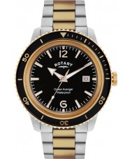Rotary GB02695-04 Mens Timepieces Ocean Avenger Rose Steel Watch