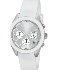 Puma PU102812001 Motorsport Grip Chrono Silver White Watch