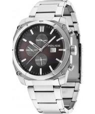 Police 14099JS-12M Mens Milano Silver Steel Bracelet Watch