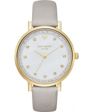 Kate Spade New York KSW1131 Ladies Monterey Grey Leather Strap Watch