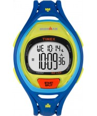 Timex TW5M01600 Ironman 150-Lap Full Size Sleek Blue Resin Strap Chronograph Watch