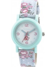 Tikkers TK0104 Girls Floral Blue Watch
