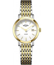 Rotary LB05301-01 Ladies Timepieces Windsor Two Tone Gold Plated Watch
