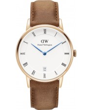 Daniel Wellington DW00100113 Dapper 34mm Durham Rose Gold Watch