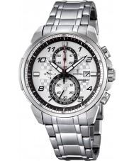 Festina F6842-2 Mens Chronograph Silver Steel Chronograph Watch