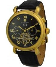 Edward East EDW5341G4 Mens Classic Black Leather Strap Automatic Watch