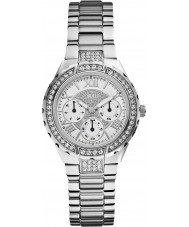 Guess W0111L1 Ladies Viva Silver Steel Bracelet Watch