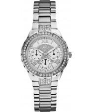 Guess W0111L1 Ladies Viva Silver Steel Bracelet Watch