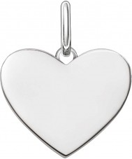 Thomas Sabo LBPE0002-001-12 Ladies Love Bridge 925 Sterling Silver Pendant