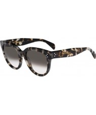 Celine Ladies CL 41755-S AVV Z3 Spotted Havana Sunglasses