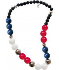 D and G DJ0923 Ladies Multicolour Over Me Necklace