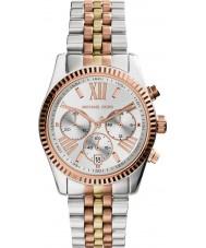 Michael Kors MK5735 Ladies Lexington Two Tone Steel Chronograph Watch