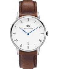 Daniel Wellington DW00100095 Dapper 34mm St Mawes Silver Watch