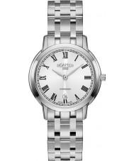 Roamer 515811-41-22-50 Ladies Superslender Silver Steel Bracelet Watch