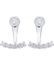 Purity 925 PUR3811-3 Ladies 925 Sterling Silver Earrings
