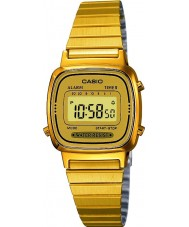 Casio LA670WEGA-9EF Collection Gold Plated Watch
