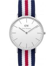Daniel Wellington DW00100016 Mens Classic 40mm Canterbury Silver Watch