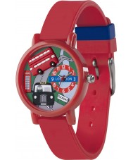 Tikkers Boys 3D Red London Watch