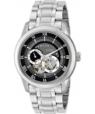 Bulova 96A119 Mens Automatic Silver Steel Bracelet Watch