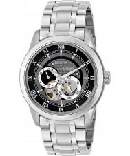 Bulova 96A119 Mens BVA Series Mechanical Silver Steel Bracelet Watch