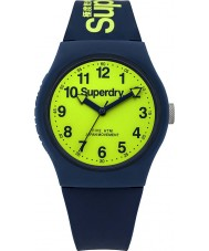 Superdry SYG164UN Urban Navy Silicone Strap Watch