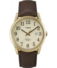 Timex TW2P75800 Mens Easy Reader Brown Leather Strap Watch