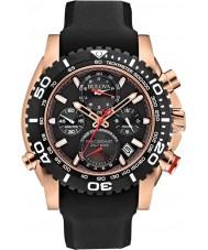 Bulova 98B211 Mens Precisionist Black Chronograph Watch