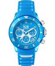 Ice-Watch AQ.CH.MAL.U.S.15 Ice-Aqua Malibu Blue Silicone Strap Chronograph Watch