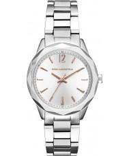 Karl Lagerfeld KL4013 Ladies Optik Silver Steel Bracelet Watch