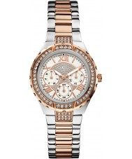 Guess W0111L4 Ladies Viva Two Tone Steel Bracelet Watch