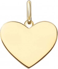 Thomas Sabo LBPE0002-413-12 Ladies Love Bridge 18ct Yellow Gold Plated Pendant