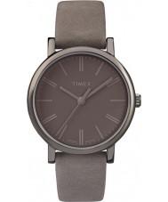 Timex TW2P96400 Ladies Originals Tonal Grey Leather Strap Watch