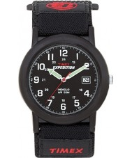Timex T40011 Mens Black Camper Expedition Watch