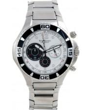 Krug Baümen 140601KM Mens Challenger Silver Chronograph Watch